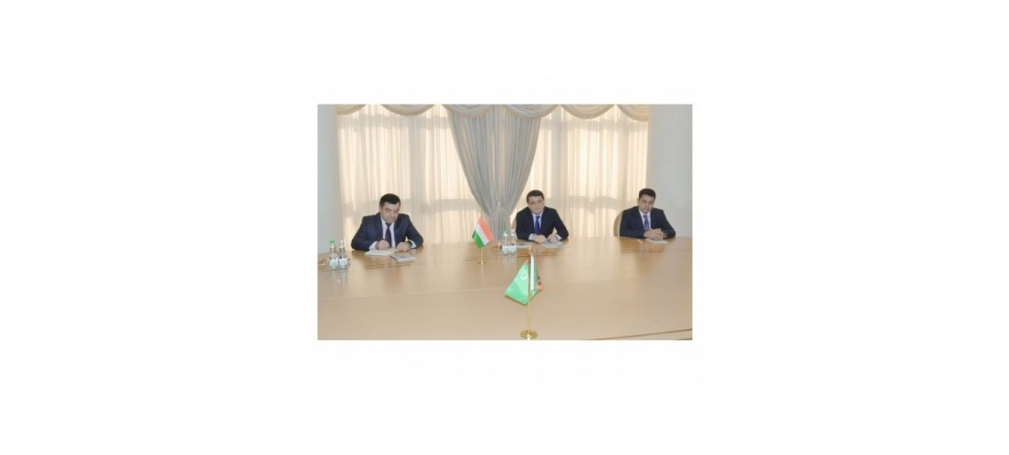 MINISTER OF FOREIGN AFFAIRS OF TURKMENISTAN MET WITH THE MINISTER OF INDUSTRY AND NEW TECHNOLOGIES OF TAJIKISTAN