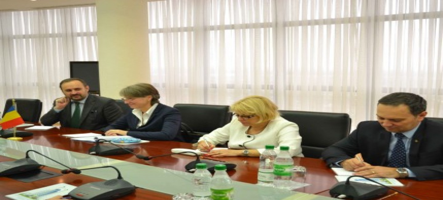 PROSPECTS OF TURKMEN-ROMANIAN COOPERATION HAVE BEEN DISCUSSED AT THE MINISTRY OF FOREIGN AFFAIRS OF TURKMENISTAN