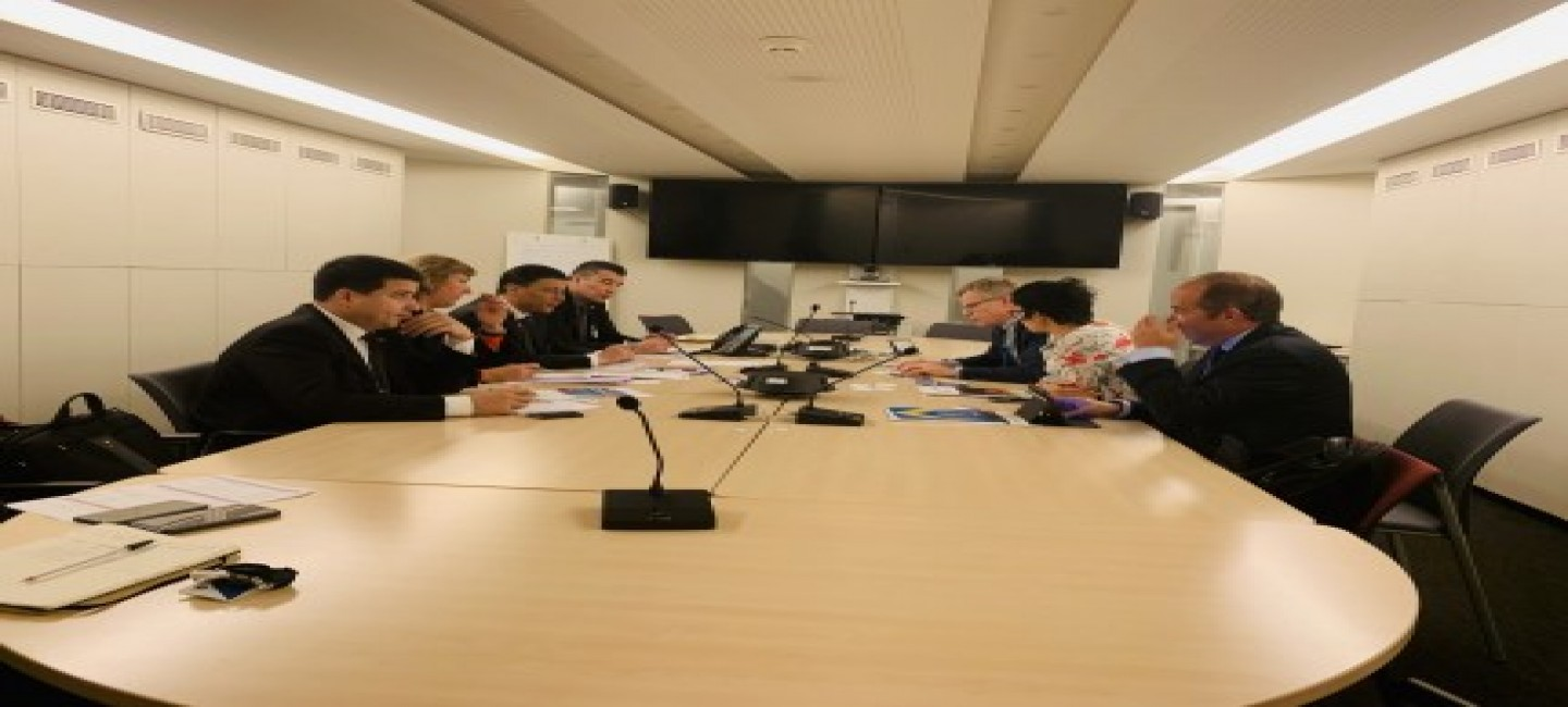 MEETINGS OF THE DELEGATION OF TURKMENISTAN IN PARIS WITH THE LEADERS OF A NUMBER OF INTERNATIONAL ORGANIZATIONS
