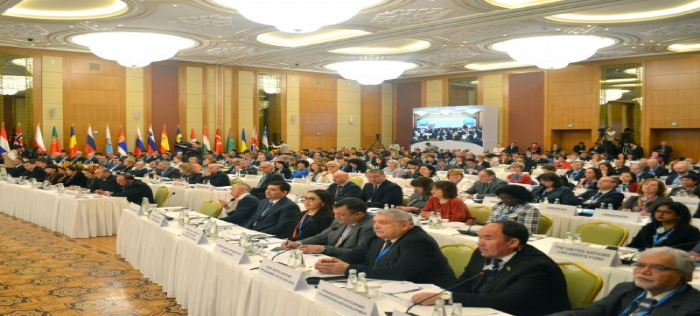 WHO European High-Level Conference on Non-Communicable Diseases starts in Ashgabat