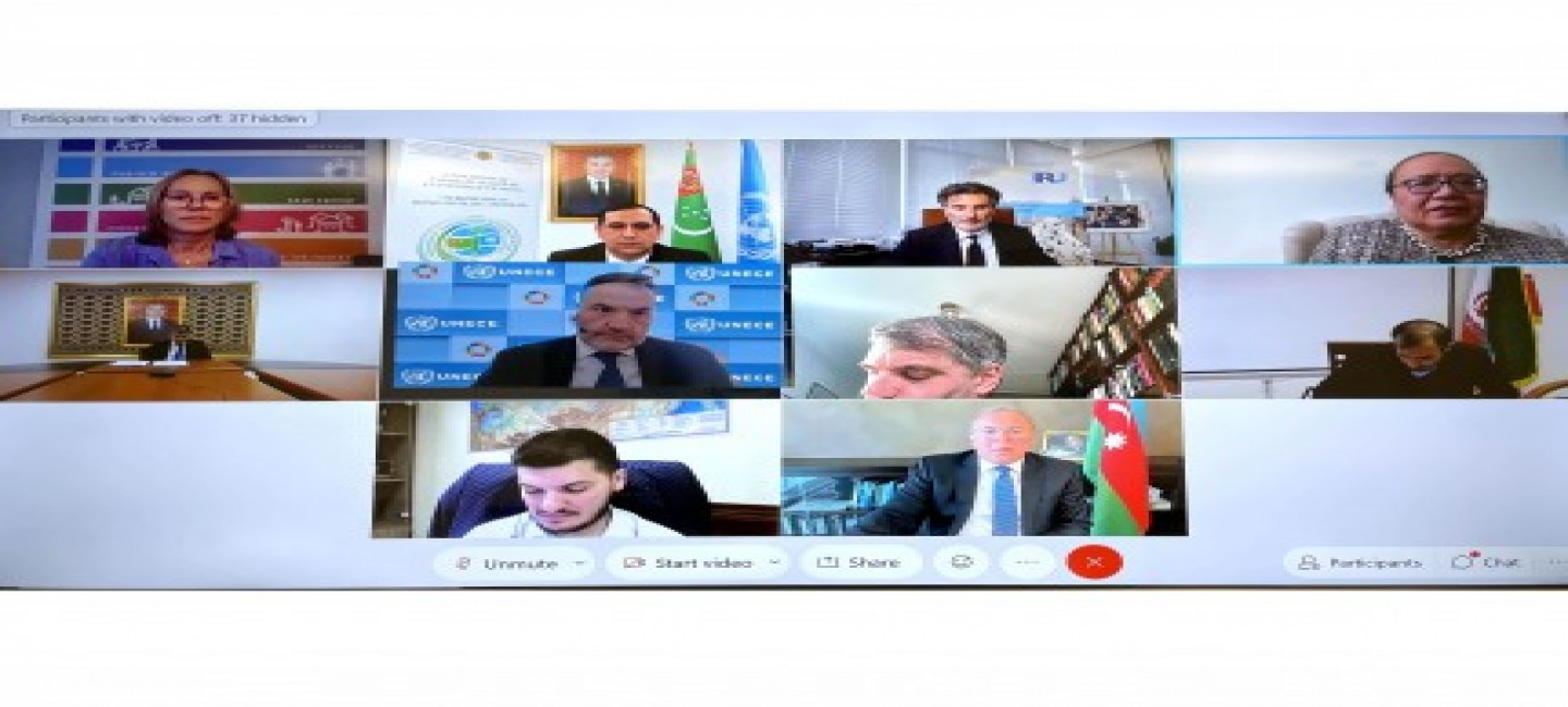"""THE EVENT DEDICATED TO THE INTERNATIONAL YEAR OF PEACE AND TRUST UNDER THE TITLE """"STABILITY OF TRANSPORT AND TRADE RELATIONS IN THE REGION OF THE CASPIAN SEA DURING PANDEMIC PERIOD"""""""