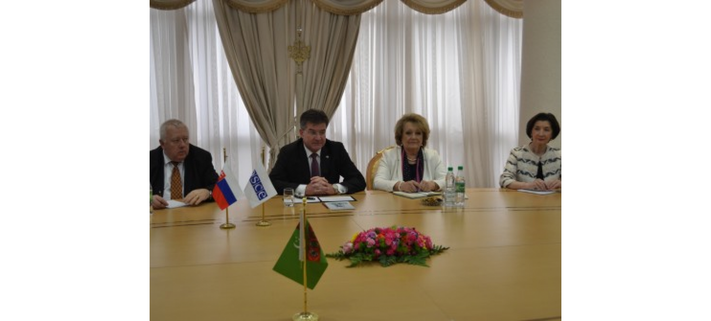 TURKMENISTAN AND OSCE DETERMINED TO WIDEN FURTHER MULTILATERAL COOPERATION