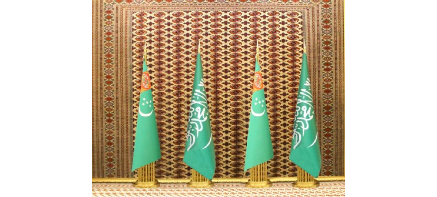 PRESIDENT OF TURKMENISTAN HELD A TELEPHONE CONVERSATION WITH KING OF SAUDI ARABIA