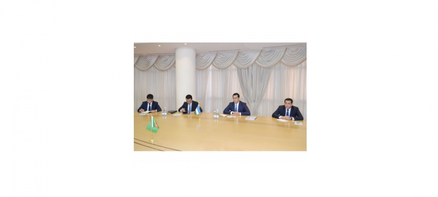 VISIT OF THE DEPUTY PRIME MINISTER, MINISTER OF INVESTMENTS AND FOREIGN TRADE OF THE REPUBLIC OF UZBEKISTAN TO TURKMENISTAN